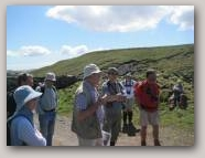 Guided walk with a geology expert  » Click to zoom ->