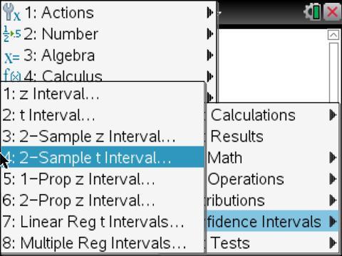 TI-Nspire vs. R Statistics 5