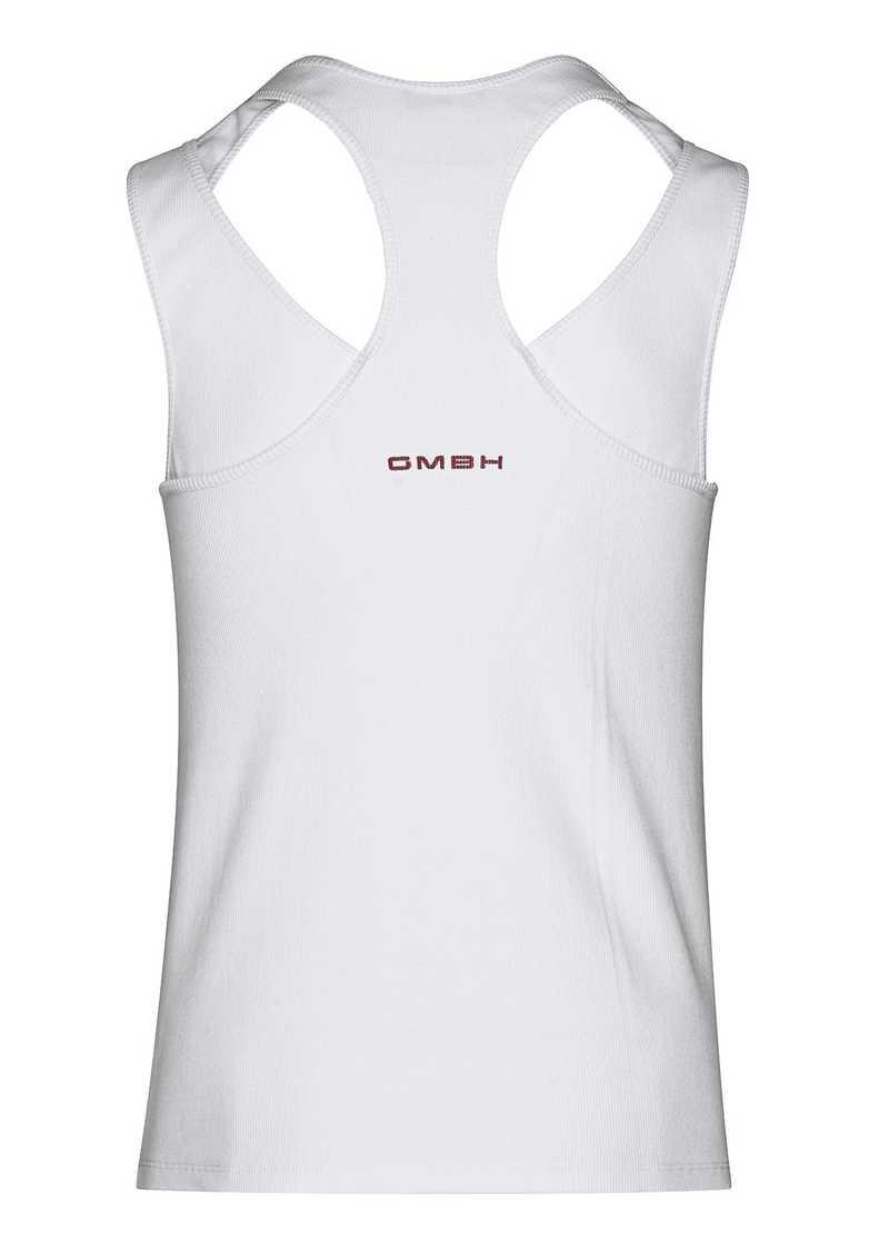 ARDA vest in white. GmbH Spring/Summer 2021 'RITUALS OF RESISTANCE'