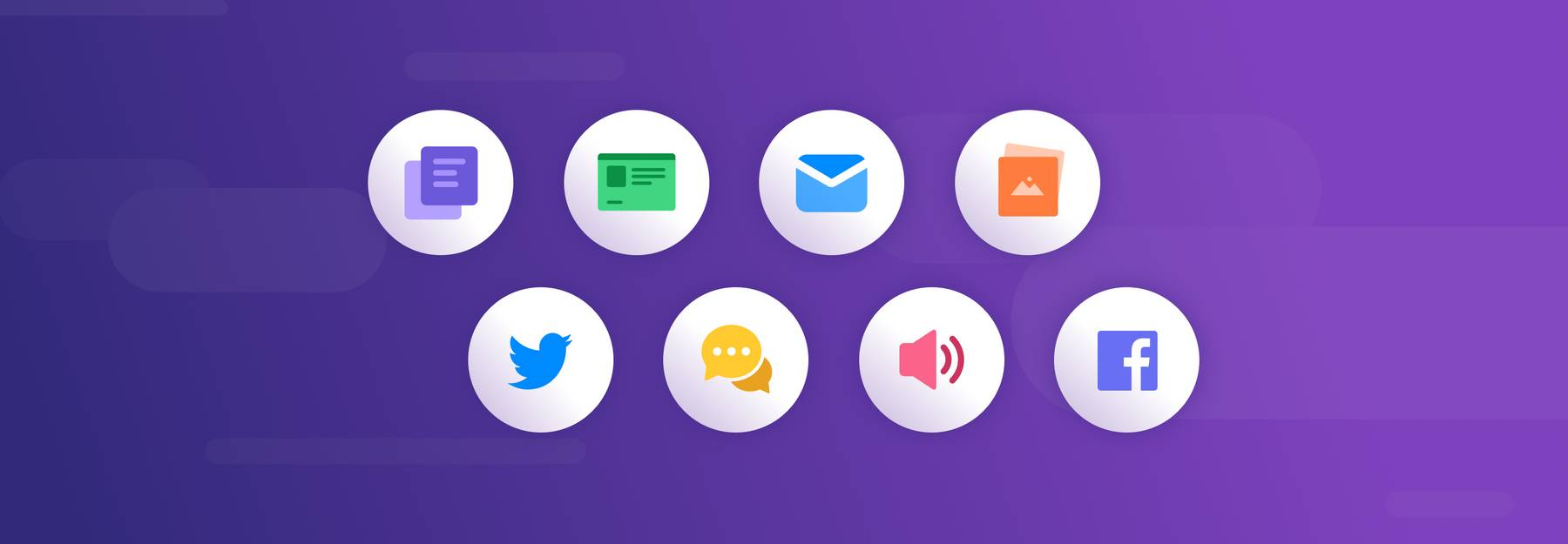 Unstructured data examples, like twitter, emails, chat, images, audio, and more