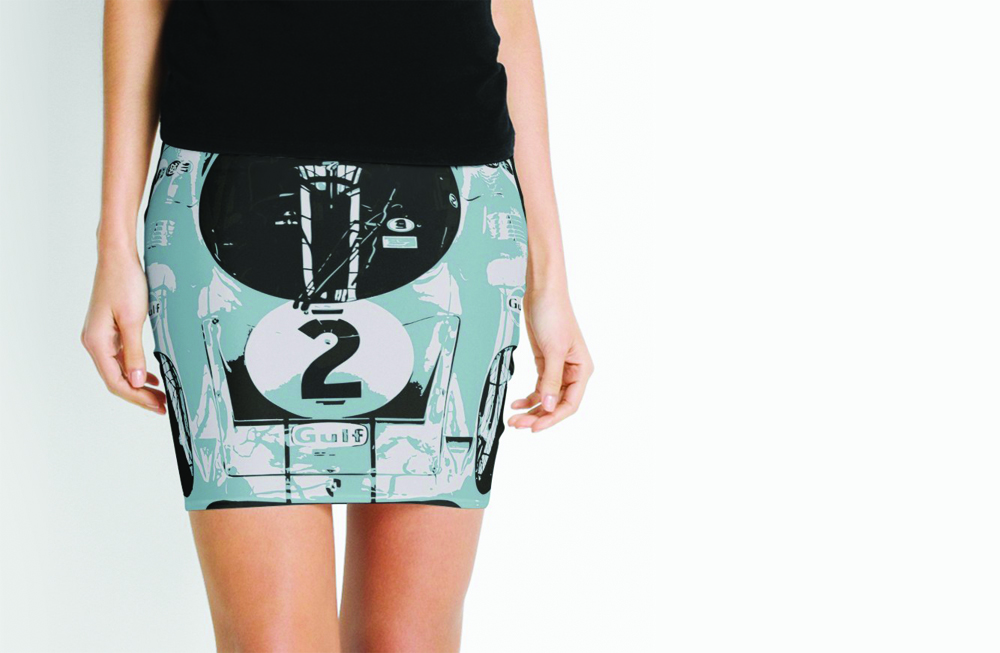 Porsche 917K Mini Skirt by thespeedart