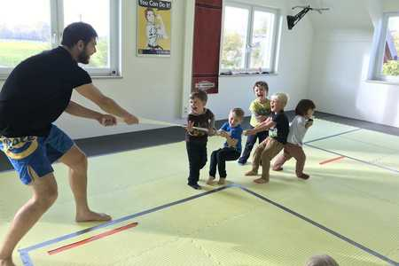 Kleine Ninjas - Kampfsport für 3 - 5 jährige Kinder