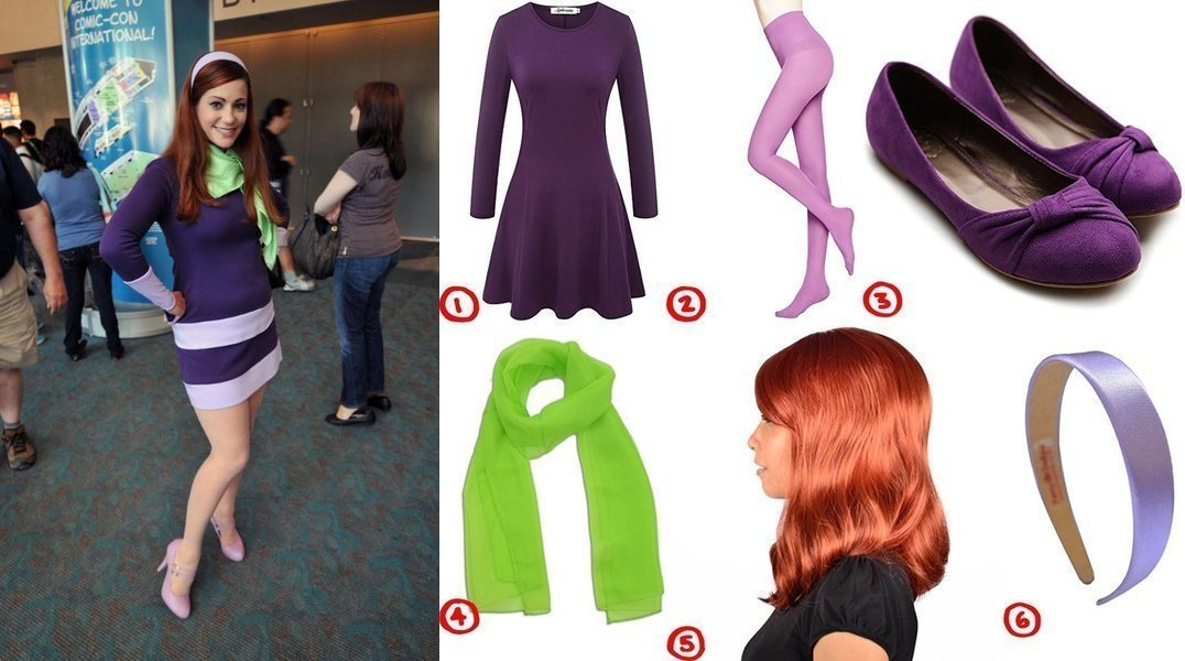 Daphne Blake Cosplay u0026 Costume Guide  sc 1 st  Costumet & Dress Like Daphne Blake from Scooby Doo Costume for Cosplay u0026 Halloween