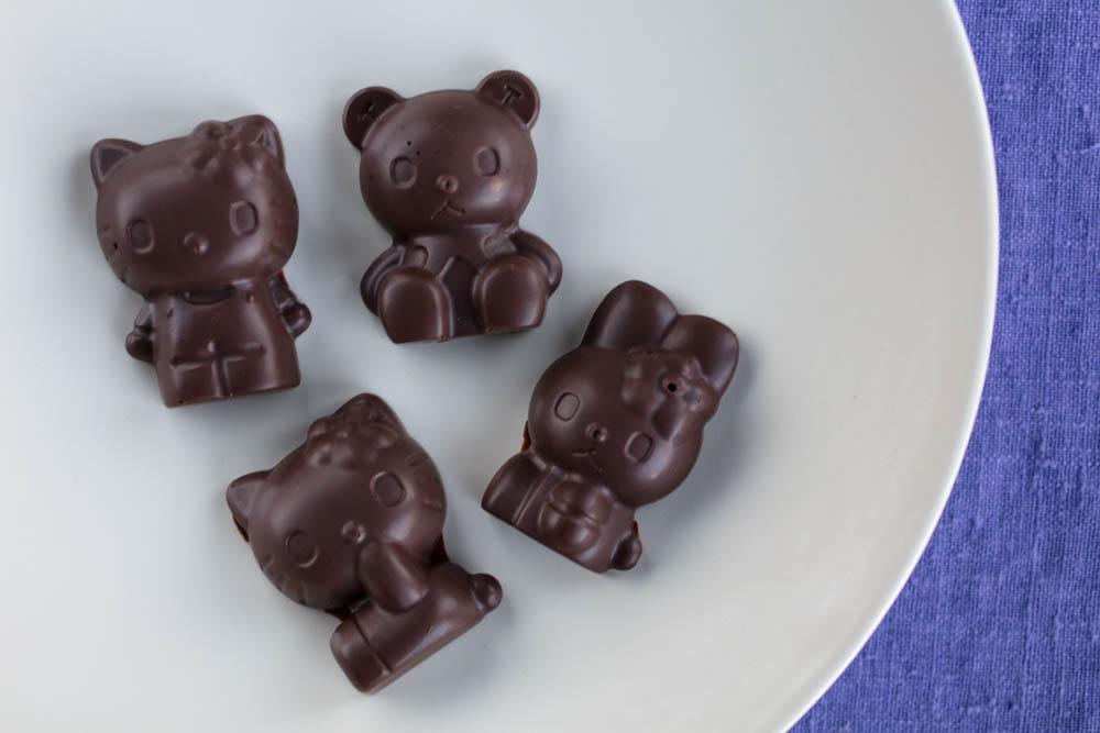 hello kitty and friends kawaii vegan chocolate mints