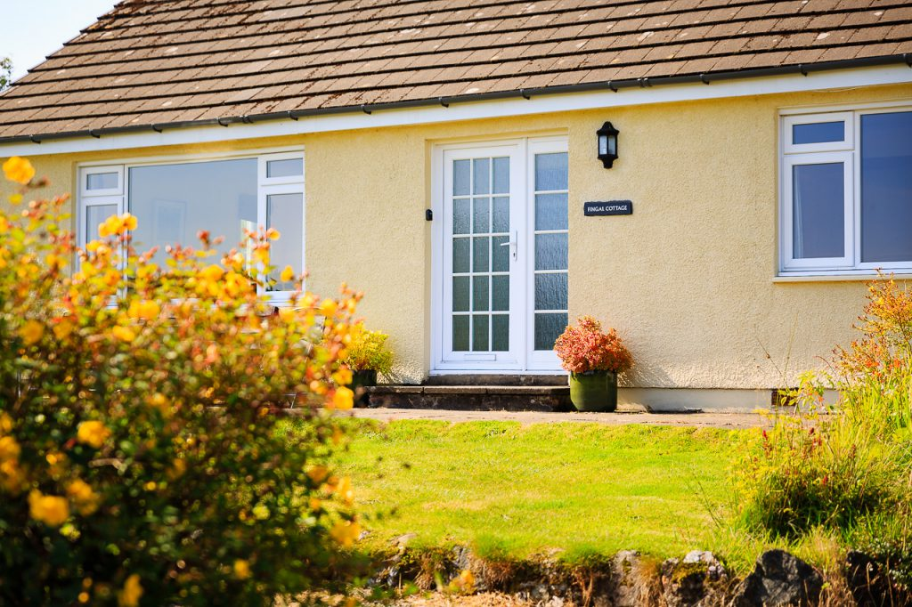 front of Fingal Cottage