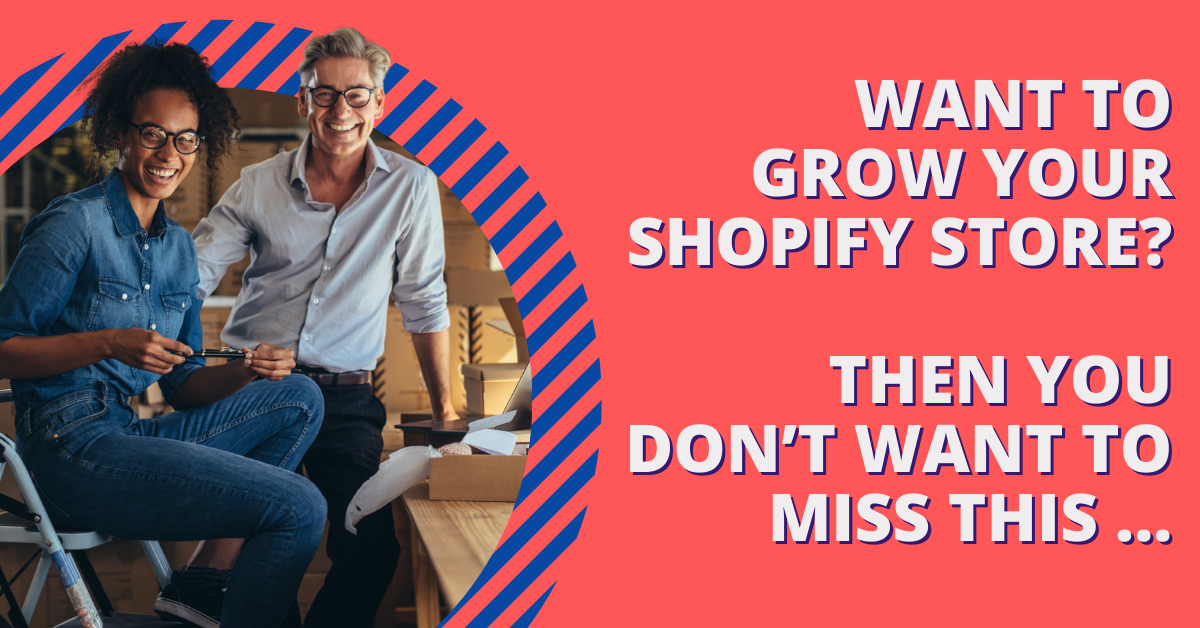 Want to grow your Shopify store infographic