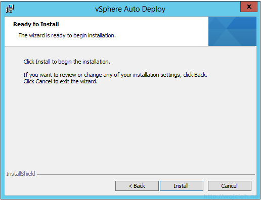 VMware vSphere Auto Deploy installation guide - software 9