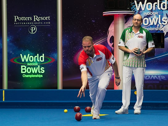 Two Night World Bowls Pairs Final Midweek Break
