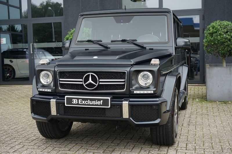 Mercedes-Benz G-Klasse 65 AMG DESIGNO MAGNO NIGHT BLACK afbeelding 7
