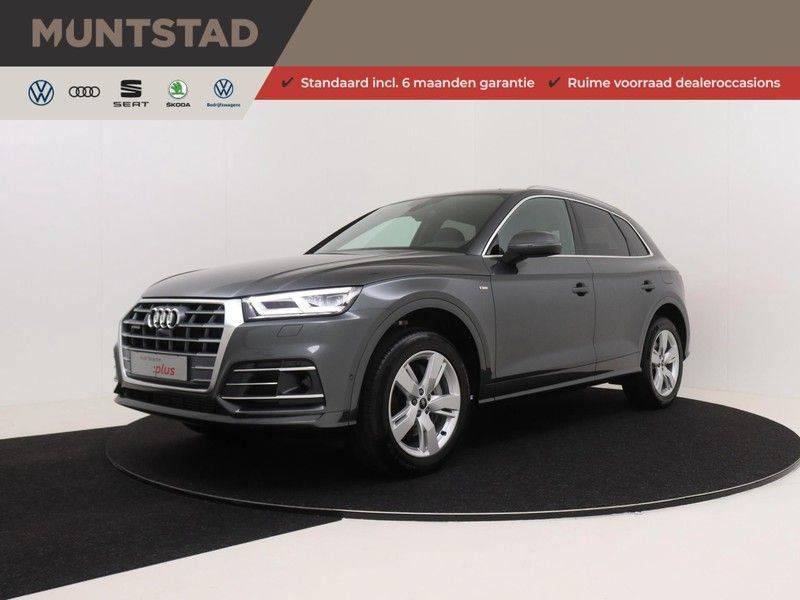 Audi Q5 50 TFSI e 299 pk quattro S edition   S-Line  Matrix LED koplampen   Assistentiepakket City/Parking   360* Camera   Trekhaak wegklapbaar   Elektrisch verstelbare/verwambare voorstoelen   Verlengde fabrieksgarantie afbeelding 1
