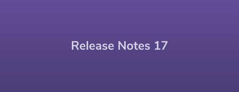 Release Notes: DevRel17