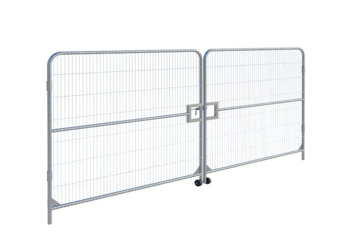 Temporary Fencing Vehicle Gate