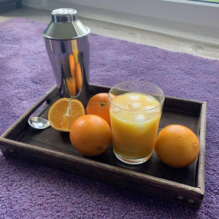 Orange Oasis Cocktail