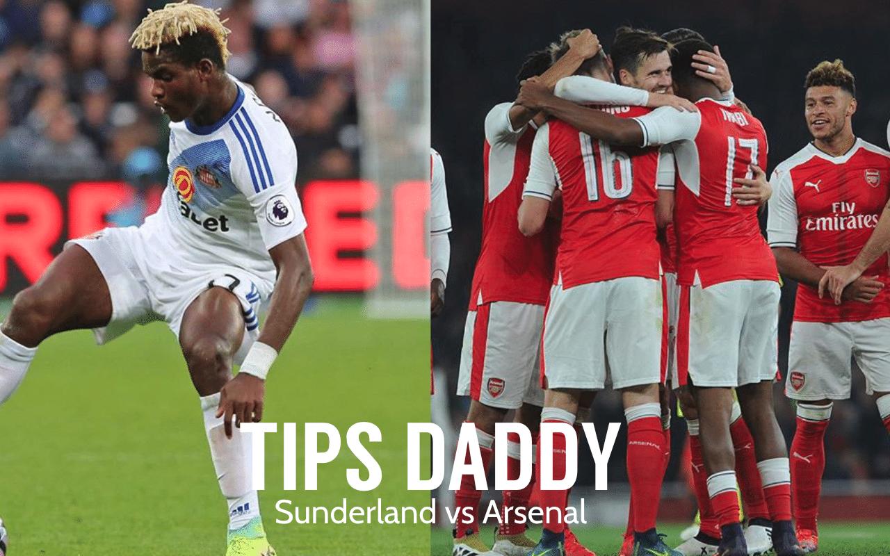 Sunderland vs Arsenal Betting Tips