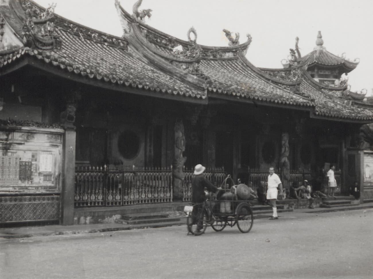Thian Hock Keng Temple, 1953