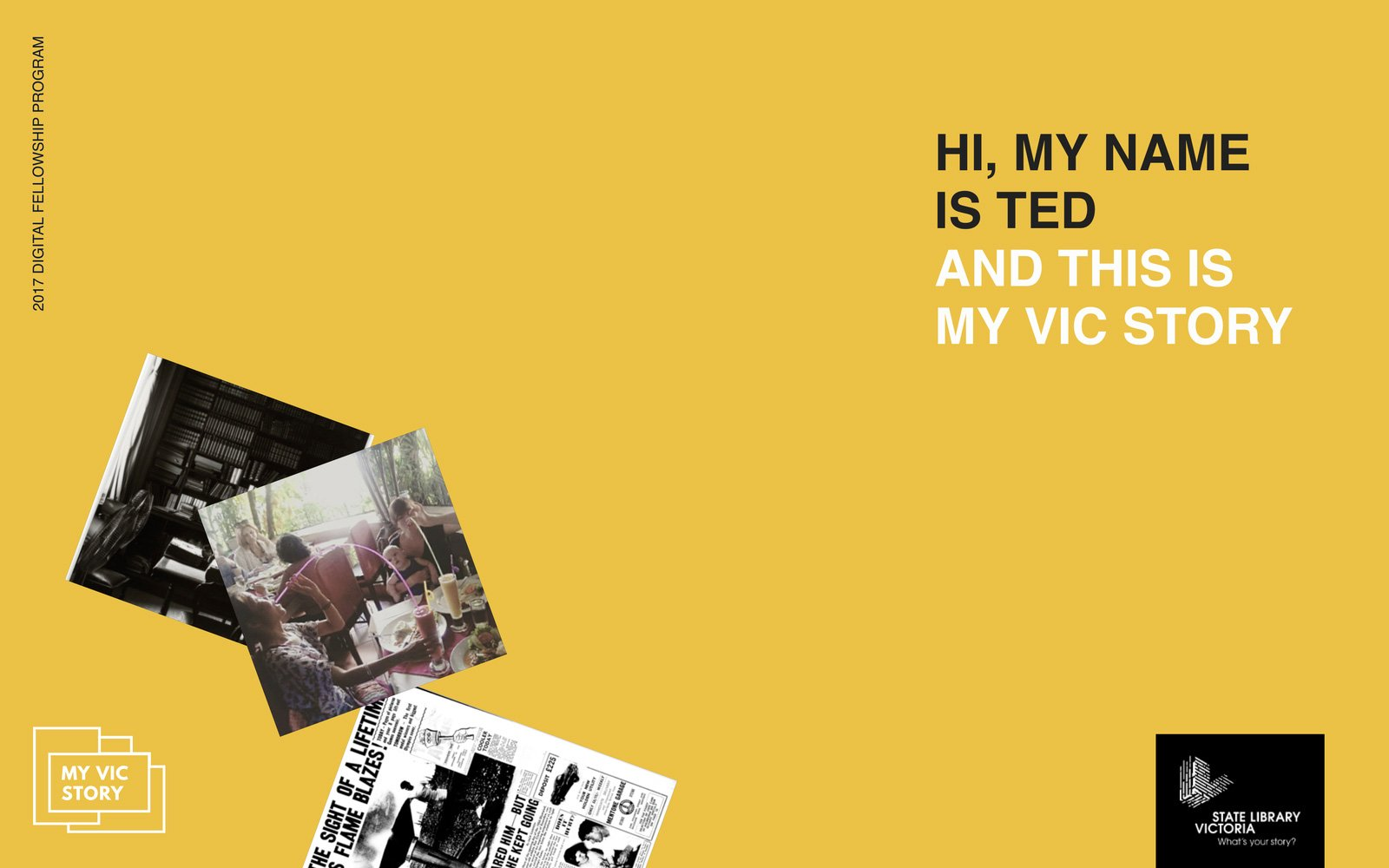My Vic Story