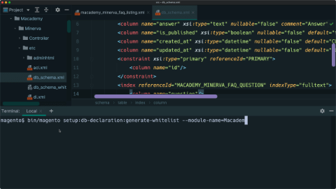 Add a fulltext search box to an admin grid