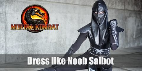 Violent and cold-hearted, Noob Saibot is a wraith whose soul has been engulfed by evil.  Noob Saibot can easily blend in the darkness. He wears an all-black ensemble. From his black long-sleeved top to his plain black sneakers, Noob Saibot is a definite creature of the shadows.
