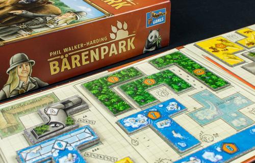 Állatkert tetriszelemekből: Bärenpark