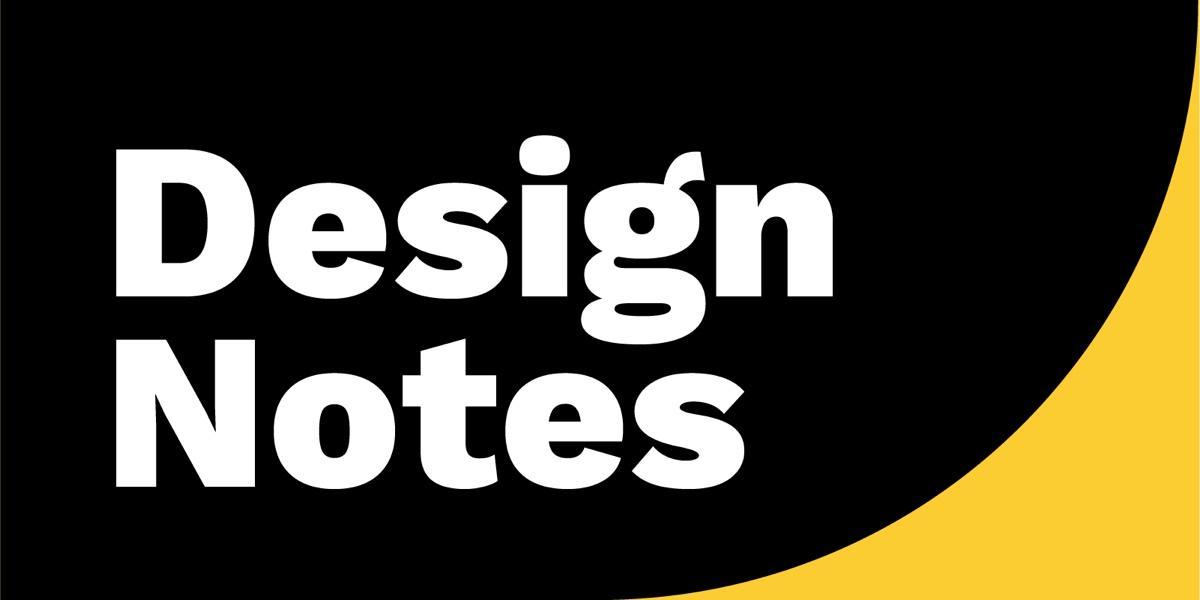 Design Notes podcast logo