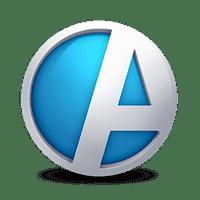 Systemlogo för Agda PS