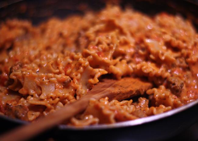 lasagne-style pasta bowl recipe