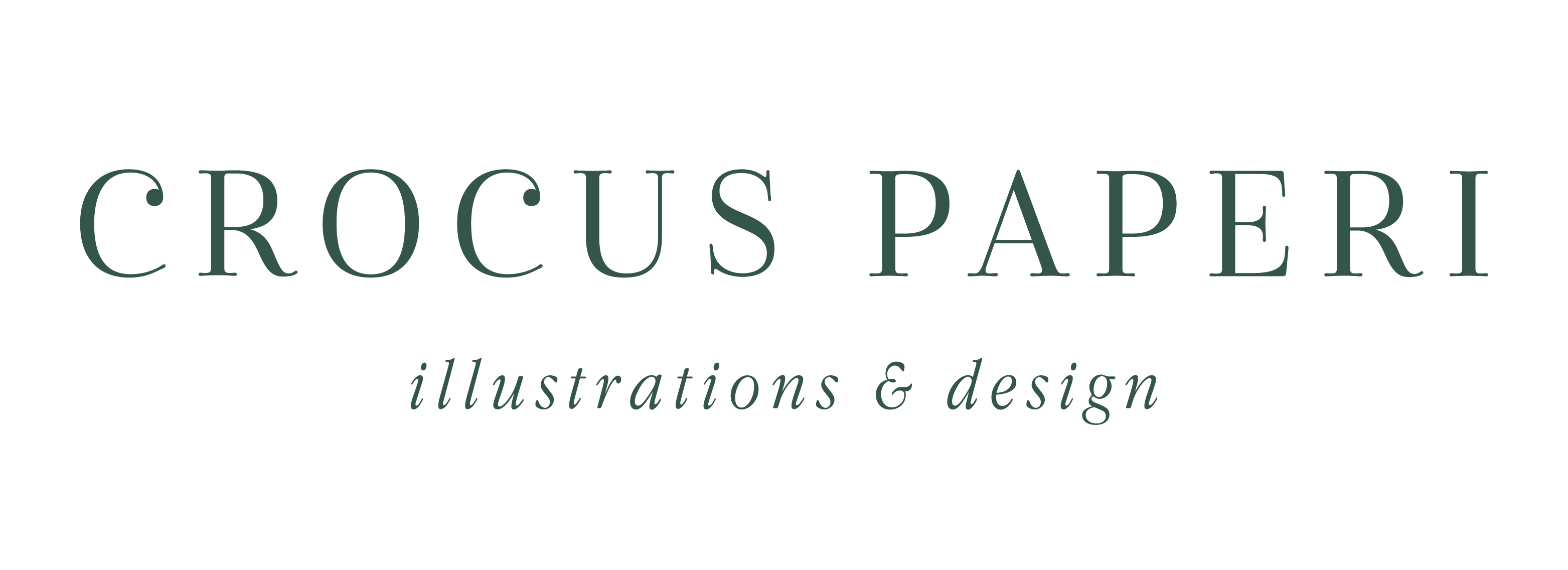 Crocus Paperi | Illustrations, graphic design, branding logo