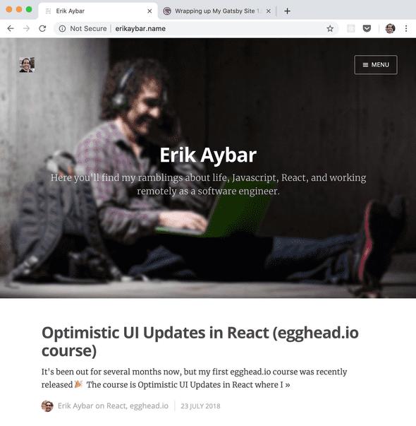 erikaybar dot name screenshot