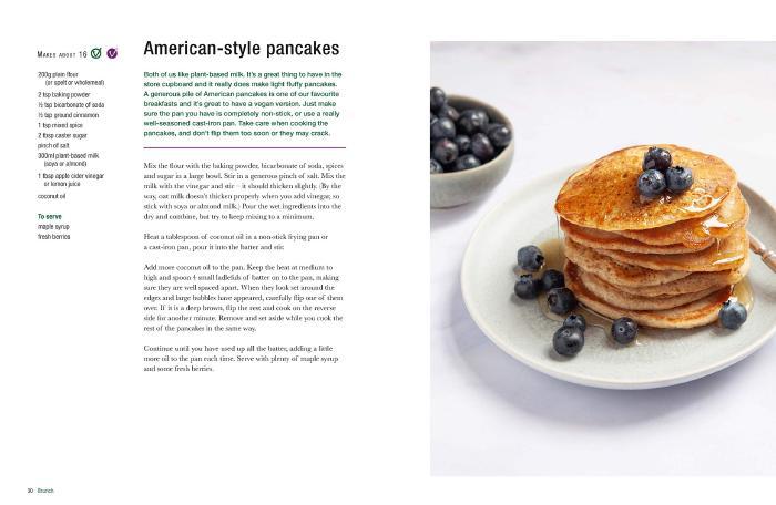 American-style pancakes