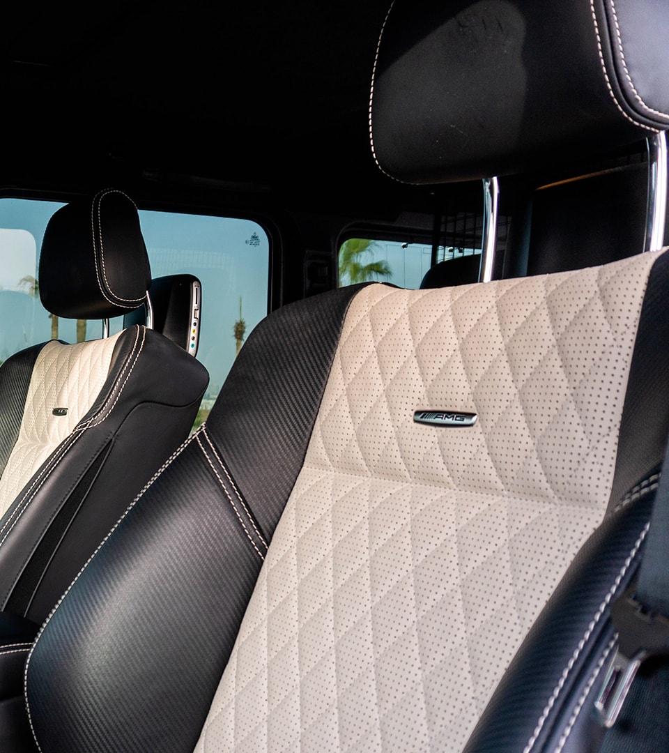 mercedes g63 seats
