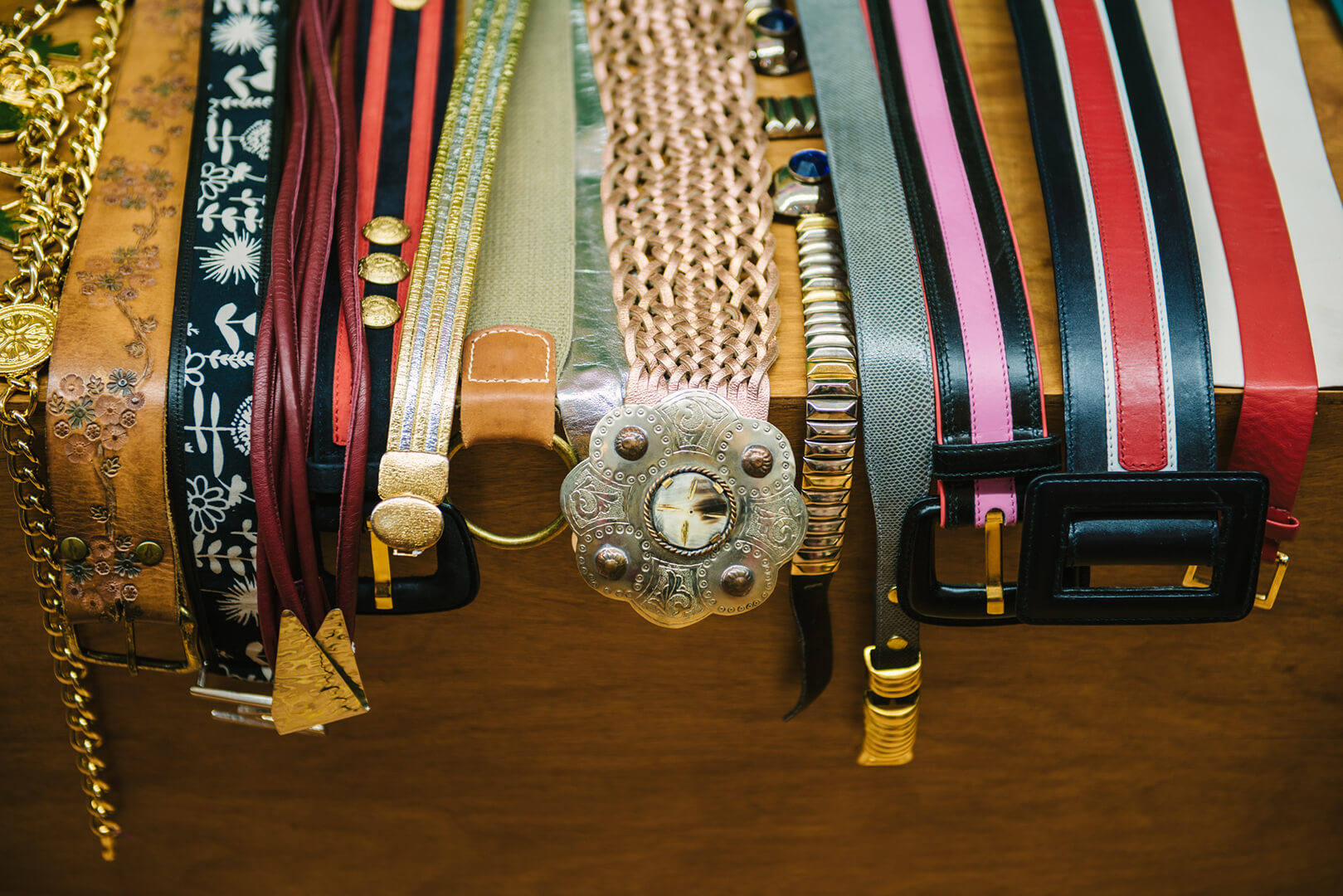 Vintage on First Hoboken Belts