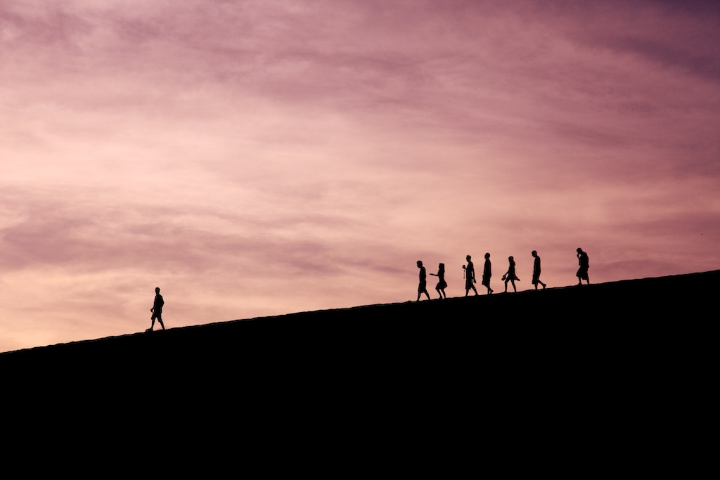 People following a leader - Photo by Jehyun Sung on Unsplash
