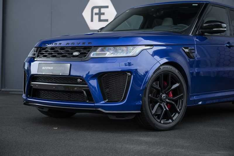 "Land Rover Range Rover Sport P575 SVR Carbon SVR motorkap + Drive Pro Pack + Panoramadak + 22"" + Stoelkoeling + Head-Up + Stuurwielverwarming + Carbon interieur afbeelding 12"