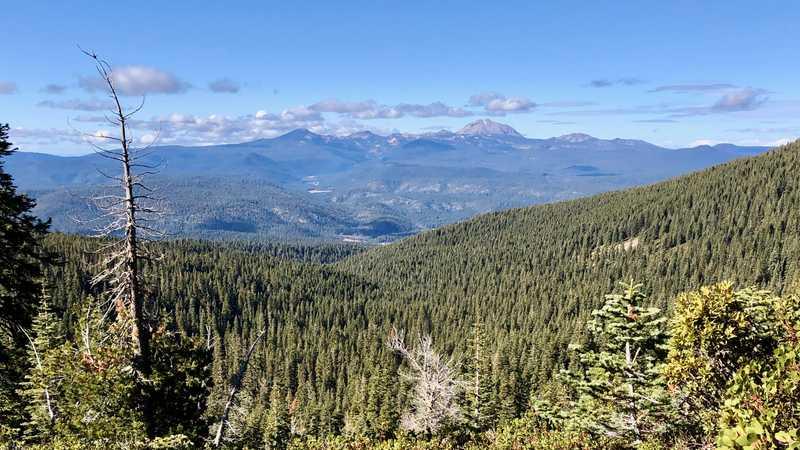 A view of Lassen Peak