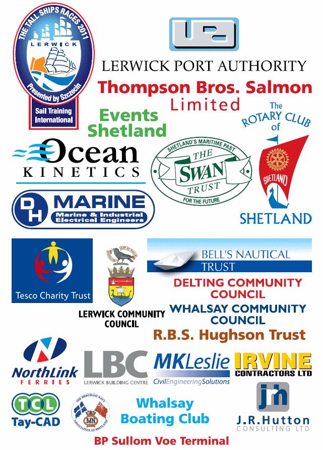 Sail Training Shetland Sponsors