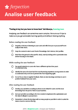 Download our UX checklist