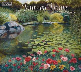 Lang Calendar Journey Home 2021
