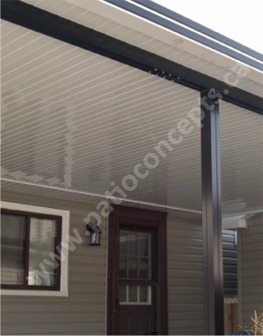 Flat Pan Awnings Picture Gallery