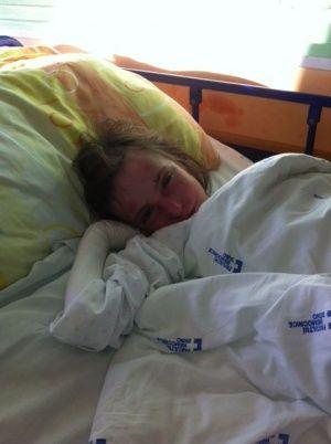 Poděkování za uhrazení hospitalizace v nemocnici