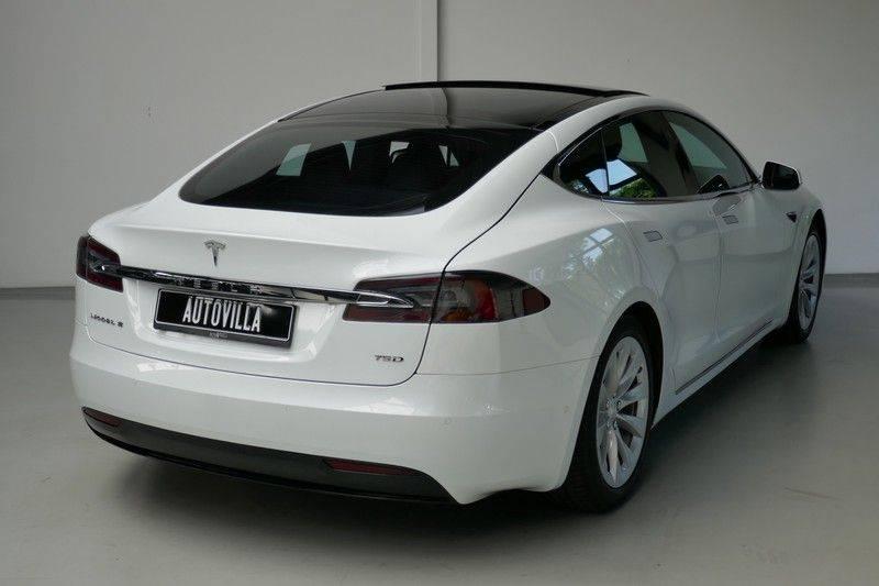 Tesla Model S 75D 4% PANODAK - ex.BTW afbeelding 5
