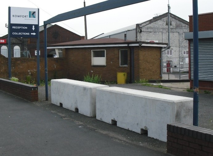 2.5m Concrete Barriers