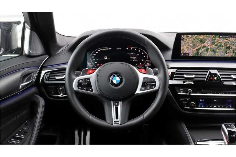 BMW 5 Serie M5 Competition Individual, Akrapovic, M Drivers Package afbeelding 14