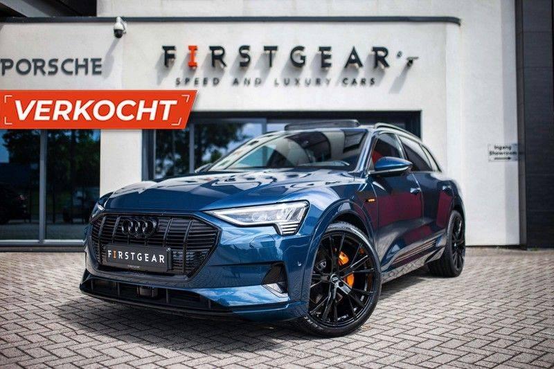 Audi e-tron 55 Quattro *4% Bijtelling / Prijs Ex. BTW / B&O / Stad & Tour pakket / Pano / ACC* afbeelding 1
