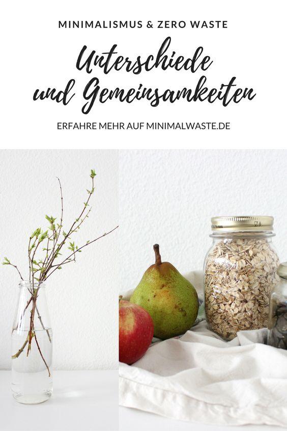 Pinterest Cover zu 'Wie passen Zero Waste und Minimalismus zusammen?'