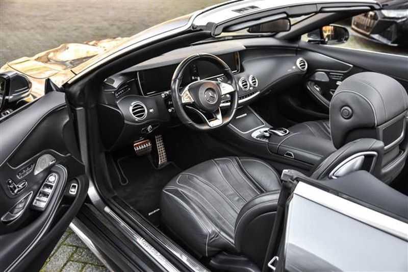 Mercedes-Benz S-Klasse S500 CABRIO AMG-LINE+BURMESTER+HEAD-UP NP.201K afbeelding 12