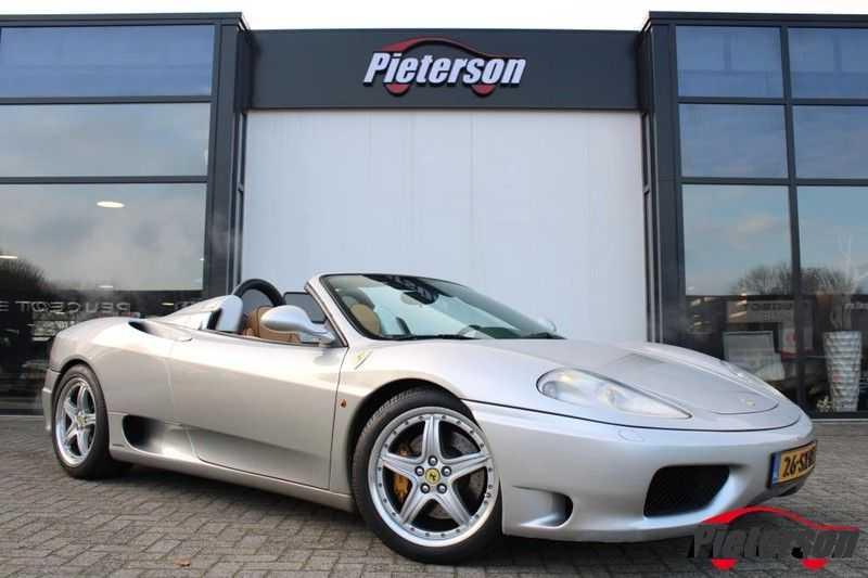 Ferrari 360 3.6 V8 Spider F1 Automaat Leder *Nette staat* afbeelding 1