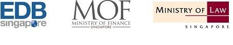 EDB MOF MinLaw Logos