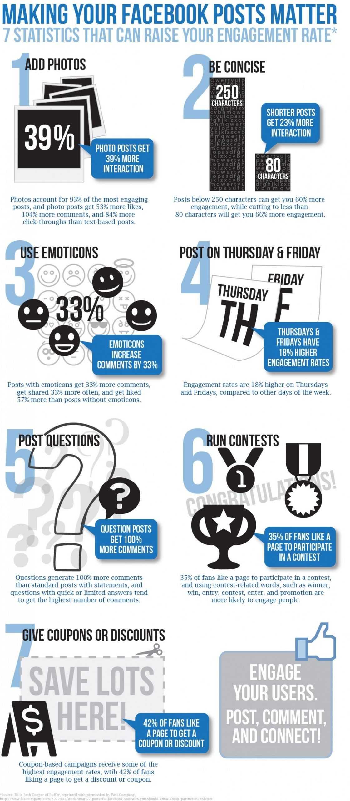 Making Your Facebook Posts Matter Infographic