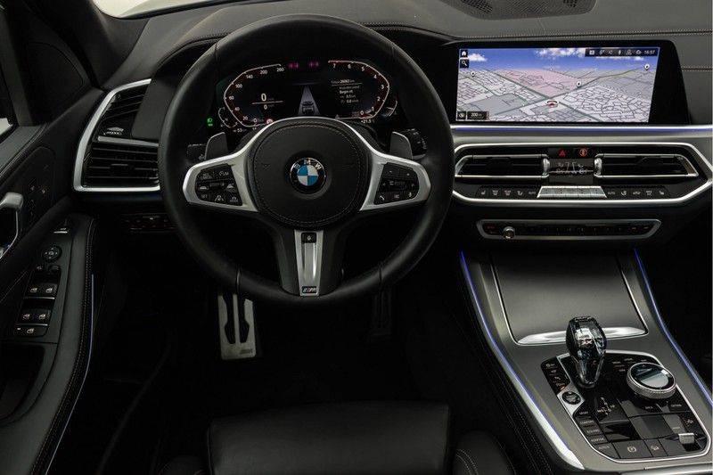"BMW X5 M40i xDrive 340pk Panoramadak VirtualCockpit ShadowLine Sportleder+Memory Head-Up Hifi Luchtvering ACC Laserlicht AmbientLight Keyless Sportuitlaat 22"" 360Camera ParkAssist Pdc afbeelding 2"