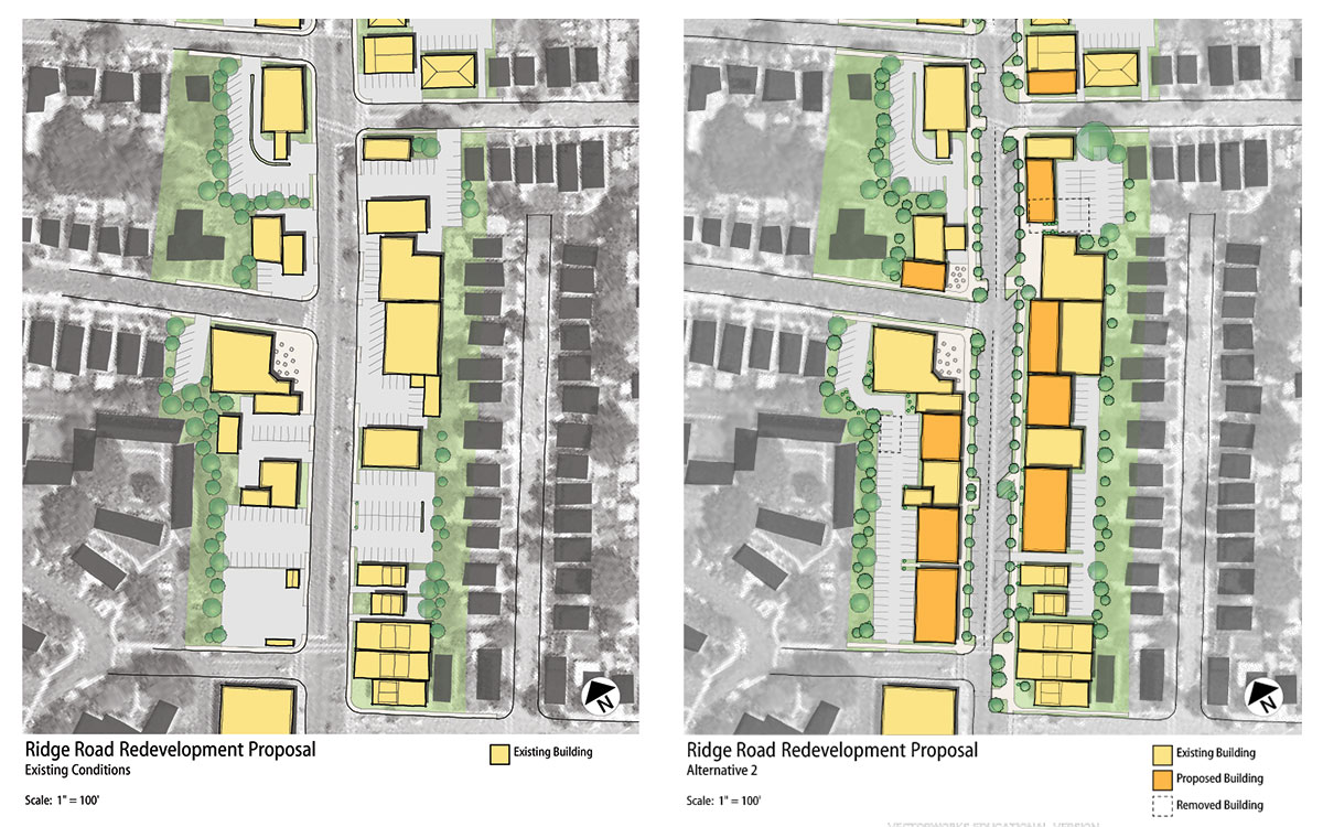 Ridge Road Infill Plan